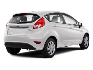 Oxford White 2011 Ford Fiesta Pictures Fiesta Hatchback 5D SE photos rear view