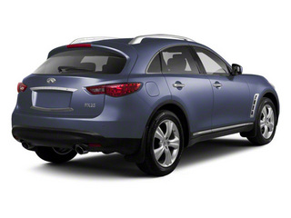 Blue Slate 2011 INFINITI FX50 Pictures FX50 FX50 AWD photos rear view