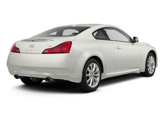 Moonlight White 2011 INFINITI G37 Coupe Pictures G37 Coupe 2D x AWD photos rear view