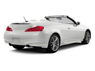 Moonlight White 2011 INFINITI G37 Convertible Pictures G37 Convertible Convertible 2D 6 Spd photos rear view