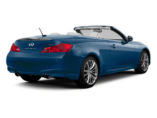 Lapis Blue 2011 INFINITI G37 Convertible Pictures G37 Convertible Convertible 2D 6 Spd photos rear view