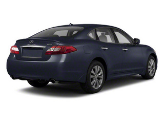 Blue Slate 2011 INFINITI M37 Pictures M37 Sedan 4D photos rear view