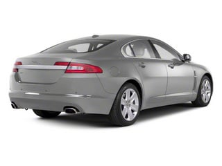 Liquid Silver 2011 Jaguar XF Pictures XF Sedan 4D photos rear view