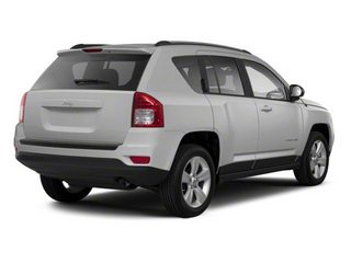 Bright Silver Metallic 2011 Jeep Compass Pictures Compass Utility 4D Latitude 4WD photos rear view