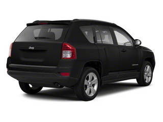 Brilliant Black Crystal Pearl 2011 Jeep Compass Pictures Compass Utility 4D Latitude 4WD photos rear view