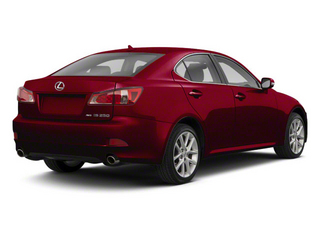 Matador Red Mica 2011 Lexus IS 350 Pictures IS 350 Sedan 4D IS350 photos rear view