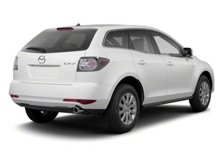 Crystal White Pearl Mica 2011 Mazda CX-7 Pictures CX-7 Utility 4D i Sport 2WD photos rear view