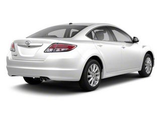 Techno White Pearl 2011 Mazda Mazda6 Pictures Mazda6 Sedan 4D i Touring Plus photos rear view