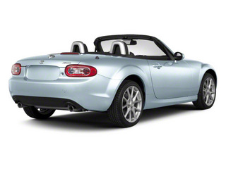 Liquid Silver Metallic 2011 Mazda MX-5 Miata Pictures MX-5 Miata Convertible 2D Sport photos rear view