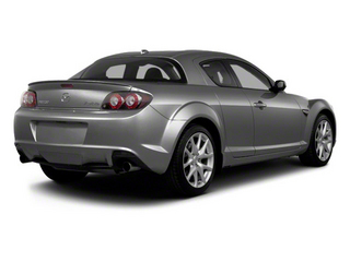 Liquid Silver Metallic 2011 Mazda RX-8 Pictures RX-8 Coupe 2D photos rear view