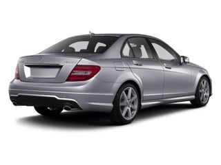 Steel Grey Metallic 2011 Mercedes-Benz C-Class Pictures C-Class Sport Sedan 4D C350 photos rear view