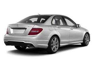 Iridium Silver Metallic 2011 Mercedes-Benz C-Class Pictures C-Class Sport Sedan 4D C350 photos rear view