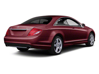 Designo Mauritius Red Metallic 2011 Mercedes-Benz CL-Class Pictures CL-Class Coupe 2D CL63 AMG photos rear view