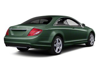 Jade Green Metallic 2011 Mercedes-Benz CL-Class Pictures CL-Class Coupe 2D CL63 AMG photos rear view