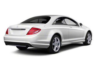 Diamond White Metallic 2011 Mercedes-Benz CL-Class Pictures CL-Class Coupe 2D CL63 AMG photos rear view