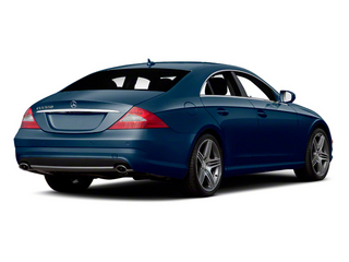 Capri Blue Metallic 2011 Mercedes-Benz CLS-Class Pictures CLS-Class Sedan 4D CLS63 AMG photos rear view