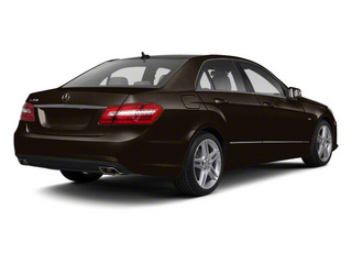 Designo Mocha Black Metallic 2011 Mercedes-Benz E-Class Pictures E-Class Sedan 4D E550 AWD photos rear view