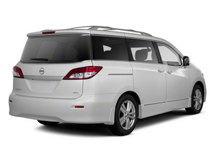 White Pearl 2011 Nissan Quest Pictures Quest Van 3.5 S photos rear view