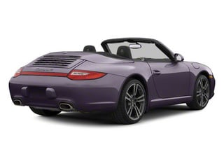 Amethyst Metallic 2011 Porsche 911 Pictures 911 Cabriolet 2D photos rear view