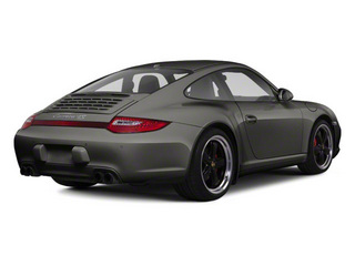 Meteor Grey Metallic 2011 Porsche 911 Pictures 911 Coupe 2D 4S Targa AWD photos rear view