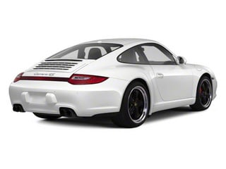 Carrara White 2011 Porsche 911 Pictures 911 Coupe 2D 4S Targa AWD photos rear view