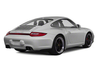 GT Silver Metallic 2011 Porsche 911 Pictures 911 Coupe 2D 4S Targa AWD photos rear view