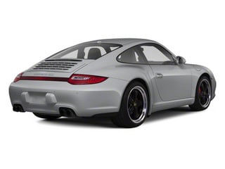 Arctic Silver Metallic 2011 Porsche 911 Pictures 911 Coupe 2D 4S Targa AWD photos rear view