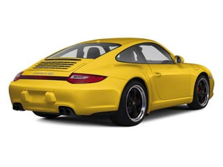Speed Yellow 2011 Porsche 911 Pictures 911 Coupe 2D Turbo S AWD photos rear view