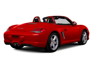 Guards Red 2011 Porsche Boxster Pictures Boxster Roadster 2D photos rear view