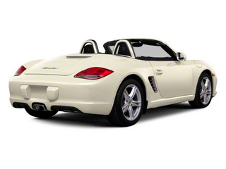 Cream White 2011 Porsche Boxster Pictures Boxster Roadster 2D S photos rear view
