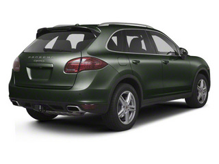Jet Green Metallic 2011 Porsche Cayenne Pictures Cayenne Utility 4D S AWD (V8) photos rear view