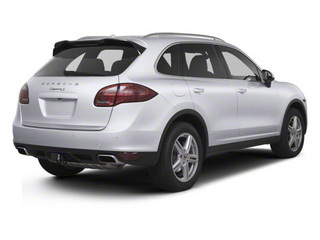 Classic Silver Metallic 2011 Porsche Cayenne Pictures Cayenne Utility 4D S AWD (V8) photos rear view