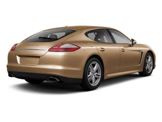 Luxor Beige Metallic 2011 Porsche Panamera Pictures Panamera Hatchback 4D photos rear view