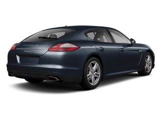 Dark Blue Metallic 2011 Porsche Panamera Pictures Panamera Hatchback 4D photos rear view