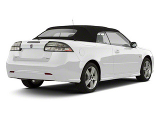 Arctic White 2011 Saab 9-3 Pictures 9-3 Convertible 2D Aero Turbo photos rear view