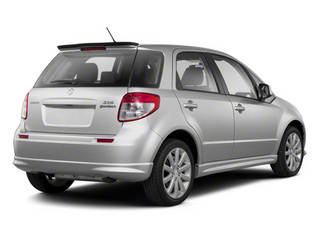 Quicksilver Metallic 2011 Suzuki SX4 Pictures SX4 Hatchback 5D photos rear view