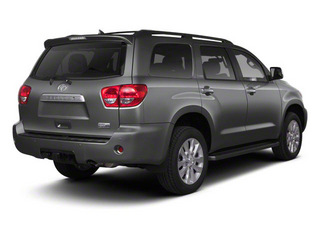Magnetic Gray Metallic 2011 Toyota Sequoia Pictures Sequoia Utility 4D Limited 4WD photos rear view