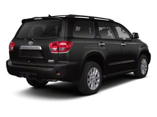 Black 2011 Toyota Sequoia Pictures Sequoia Utility 4D Limited 4WD photos rear view