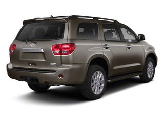 Pyrite Mica 2011 Toyota Sequoia Pictures Sequoia Utility 4D Limited 4WD photos rear view