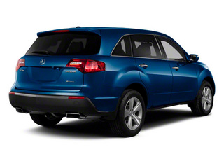 Bali Blue Pearl 2012 Acura MDX Pictures MDX Utility 4D Technology AWD photos rear view