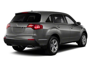 Polished Metal Metallic 2012 Acura MDX Pictures MDX Utility 4D Advance DVD AWD photos rear view