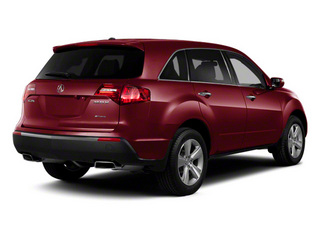Dark Cherry Pearl II 2012 Acura MDX Pictures MDX Utility 4D Technology AWD photos rear view
