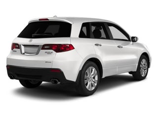 Bellanova White Pearl 2012 Acura RDX Pictures RDX Utility 4D 2WD photos rear view
