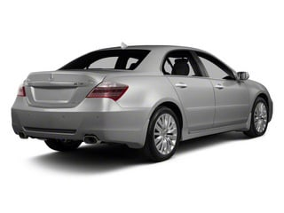 Forged Silver Metallic 2012 Acura RL Pictures RL Sedan 4D Technology photos rear view