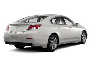 Silver Moon 2012 Acura TL Pictures TL Sedan 4D Advance photos rear view