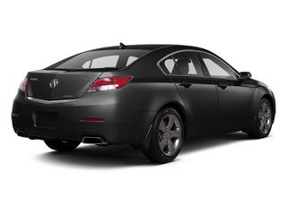 Crystal Black Pearl 2012 Acura TL Pictures TL Sedan 4D Technology AWD photos rear view