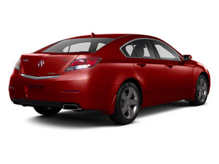 Basque Red Pearl II 2012 Acura TL Pictures TL Sedan 4D Advance AWD photos rear view