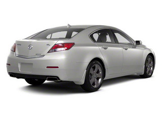Silver Moon 2012 Acura TL Pictures TL Sedan 4D Advance AWD photos rear view