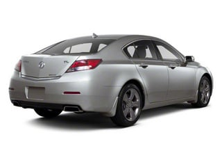Forged Silver Metallic 2012 Acura TL Pictures TL Sedan 4D Advance AWD photos rear view
