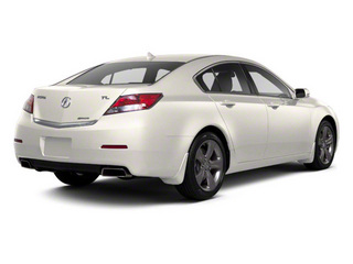 Bellanova White Pearl 2012 Acura TL Pictures TL Sedan 4D Advance AWD photos rear view